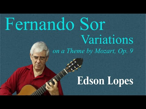 Variations on a Theme by Mozart, Op. 9 (Fernando Sor)