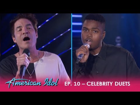 Michael J. Woodard & Pat Monahan Sing A Love Song In KNOCKOUT Duet Performance! | American Idol 2018