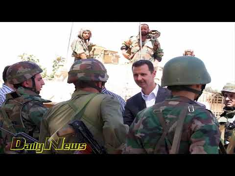 Daily News - Syria's Assad visits army in eastern Ghouta as rebels in talks