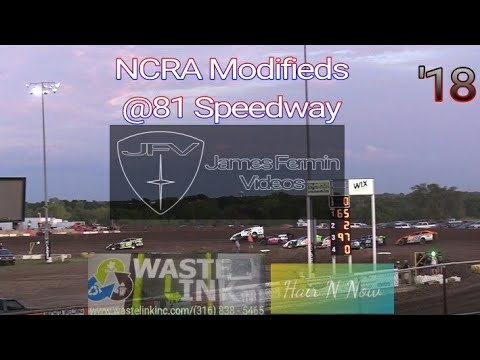 NCRA Modifieds #57, Heat 3, 81 Speedway, 09/15/18