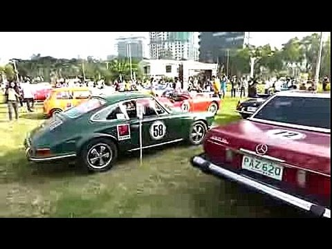 Tour De Cebu Philippines Km Historic Sports Car Rally