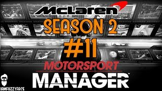 How fast is our no.1 car? - mclaren s02e11 - motorsport manager f1 mod