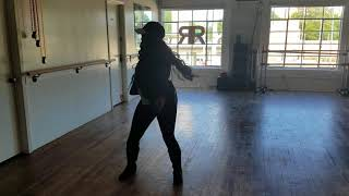 Val dancing to Janet Jackson Control