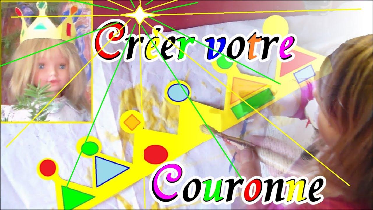 Couronne de roi reine en papier fabriquer activit s en - Fabriquer une couronne en papier ...