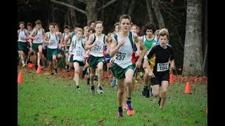 North West Cross Country Champs Junior Boys