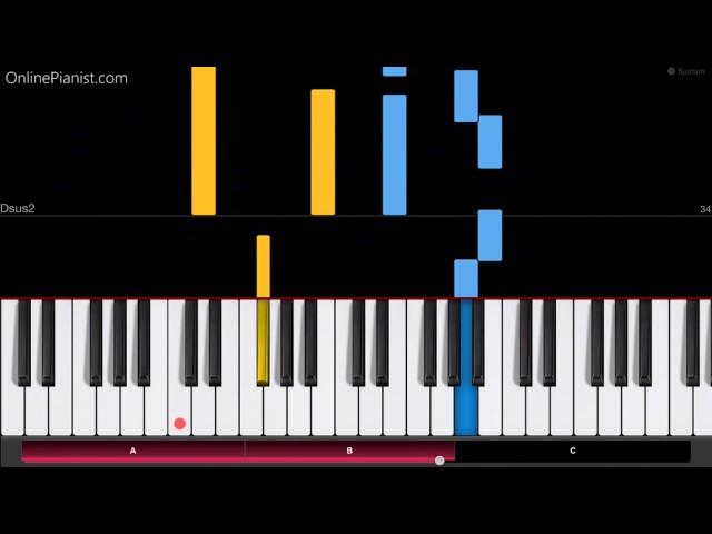 Undertale - Memory - EASY Piano Tutorial - Undertale soundtrack