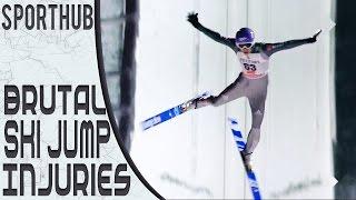 BRUTAL SKI JUMP INJURIES | SportHUB