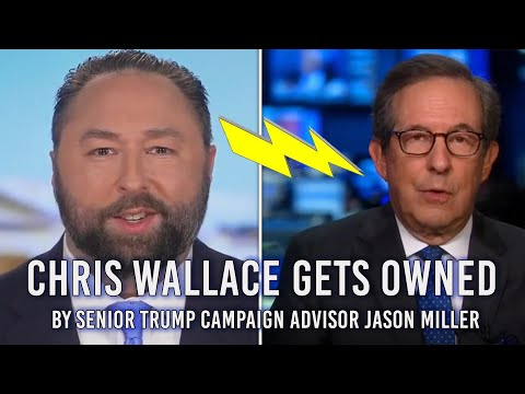 Chris Wallace GETS OWNED by Senior Trump Campaign Advisor Jason Miller!