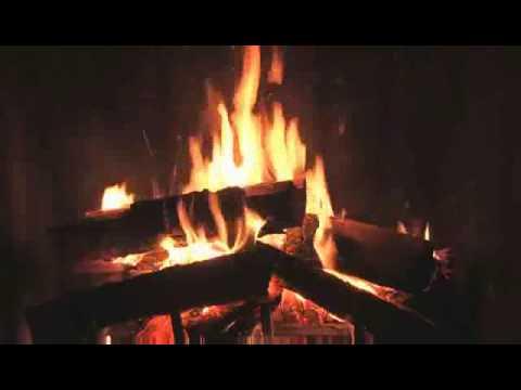 3d Moving Fireplace Wallpaper Feu De Chemin 233 E Douillet Youtube