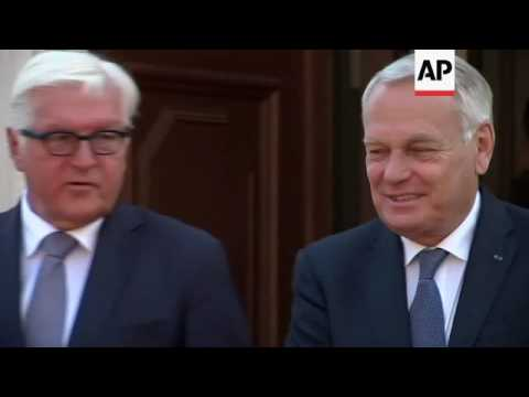 German, French, Polish foreign ministers meet