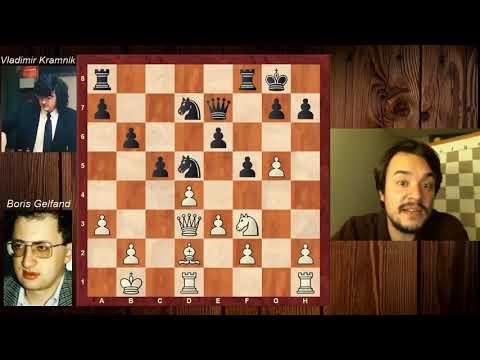 Kramnik Bıraktı Biz Devam Edelim!   Gelfand - Kramnik 1996 Berlin