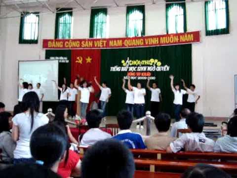 lớp 11a6- thi nhảy - cuộc thi Tiếng hát học sinh ngô quyền
