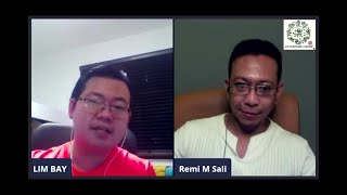 Konpaku | Excerpts from Live Interview with Remi M Sali and Lim Bay