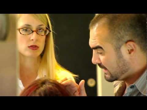 Andrew Barton restyles Lynette's hair - 10 Years Y...