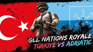 TÜRKİYE VS ADRIATIC PUBG MAÇI! [1. MAÇ]