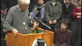 Howard Zinn at Marlboro College - February 16, 2004