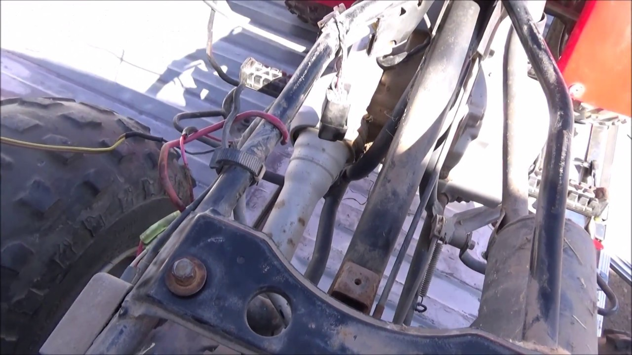 86' Yamaha Moto4 80 cc Wiring  YouTube