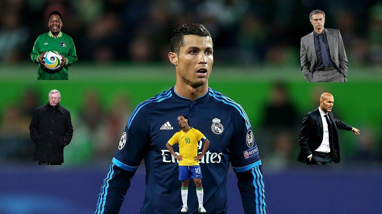 Photo of شاهد ماذا قال أساطير كرة القدم حول كريستيانو رونالدو ؟ – الرياضة