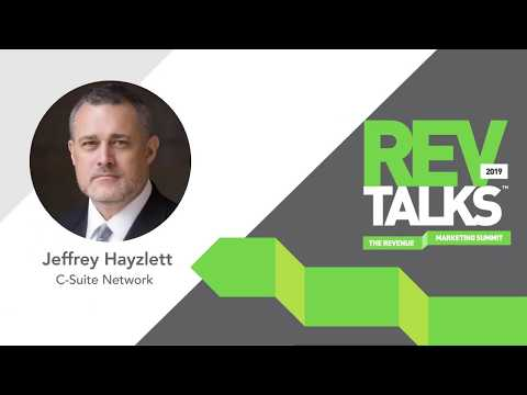 Think Big, Act Bigger: The Rewards of Being Relentless | Jeffrey Hayzlett at REVTalks 2019