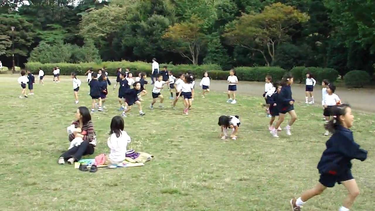 japanese school kids playing tag at recess youtube - Images Of Children Playing At School