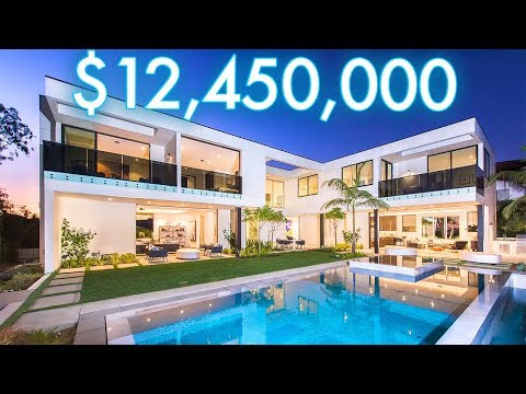 Inside $12,450,000 BEL AIR Modern Mansion