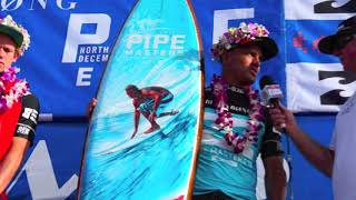 Kelly Slater Wins Pipe Masters 2013