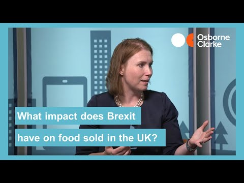 In a no deal Brexit, how would EU food be sold into the UK?
