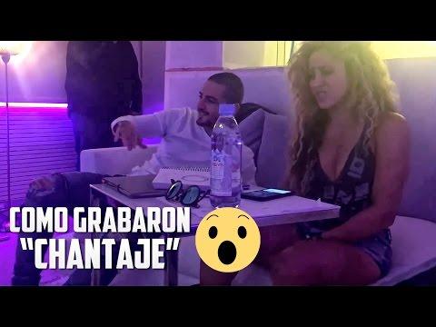 Maluma y Shakira Grabando