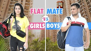 Flatmate Girl vs Boy | The ROHIT SHARMA | @Riya Mavi
