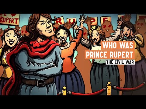 Who was Prince Rupert? | The Amazing Adventures of Prince Rupert | English Civil War Series