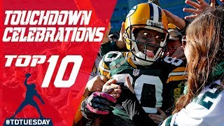 Top 10 Most Memorable TD Celebrations! | #TDTuesday | Total Access | NFL