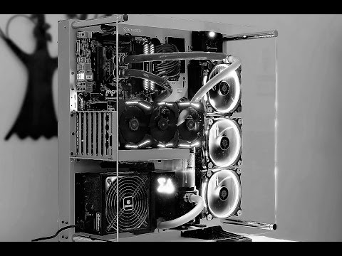 Epic Watercooled PC Build Time-Lapse CORE P5 Pacific RL140
