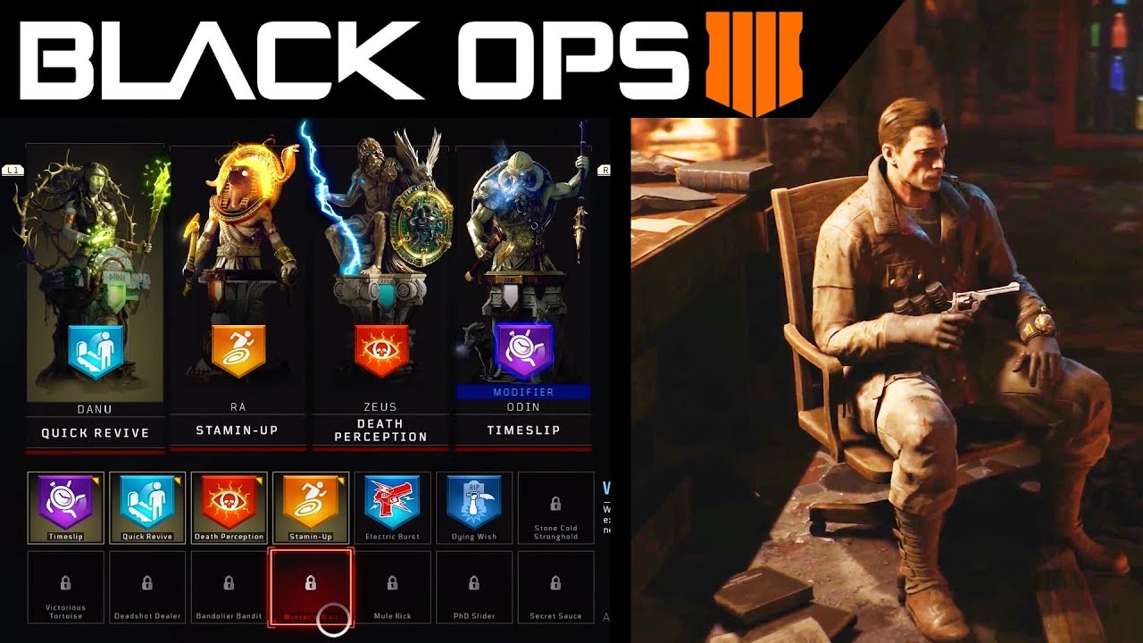 Black Ops 4 Zombies New Perks Explained Call Of Duty Bo4 Zombies