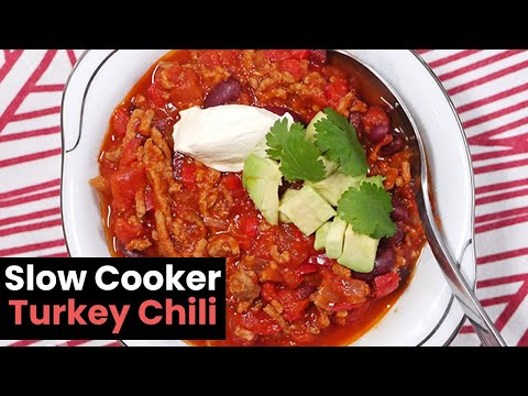 Slow Oven Poultry Chili