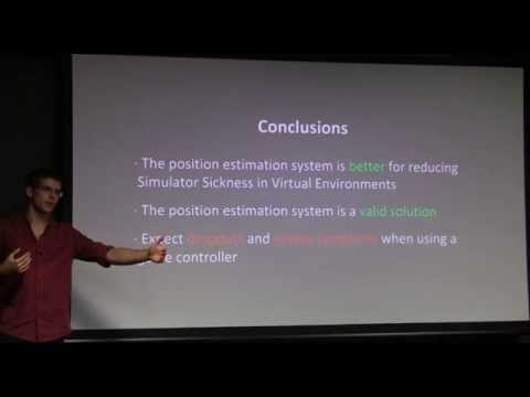 Virtual Reality: Position Estimation and Motion Sickness with the Oculus Rift - Part 2