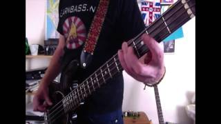Simple Grunge/Punk Bass lesson : A Bass lesson every day # 18