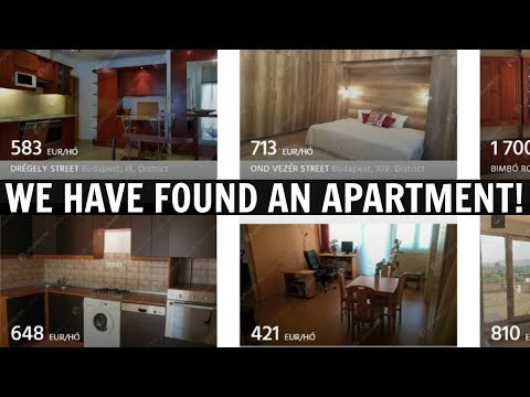 FINDING AN APARTMENT IN BUDAPEST!