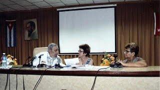 الرئيس الكوبي السابق فيدال كاسترو يظهر في معهد لانتاج الاجبان   5-7-2015