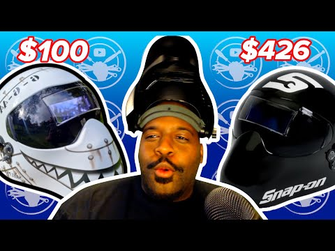 LIVE CLIP: Save Your Money, Snap On Welding Helmet Vs. Save Phace