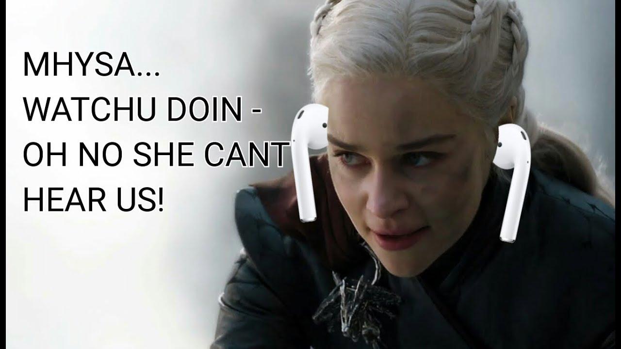 Download I put Mhysa soundtrack over daenerys burning kings landing scene