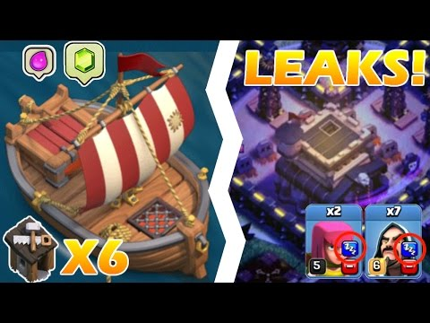 CLASH OF CLANS: Top 10 INSANE update LEAKS 2017!!!