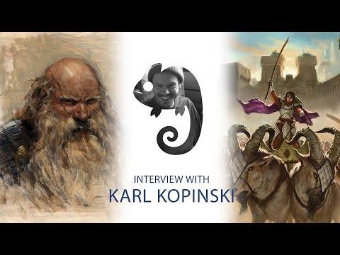 Karl Kopinski Interview