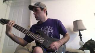 Pyrithion  the invention of hatred guitar cover