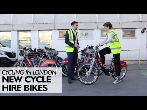 New Cycle Hire Bikes