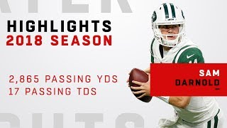 Sam Darnold's FULL Rookie Highlights in 2018!