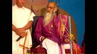 Dr. Pavagada Prakash talking about Avadhuta Shri Bindu Madhava Saduguru