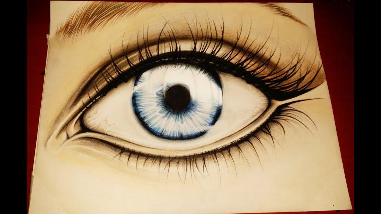Super Disegno - occhio azzurro - YouTube GZ54