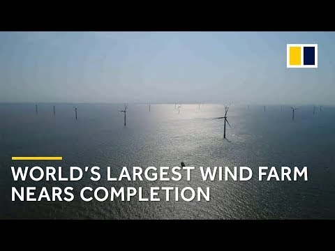 World's largest offshore wind farm: The day and night working there