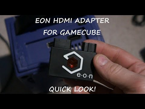 Gamecube HDMI adapter by EON, Quick look with Poorly Playing Retro