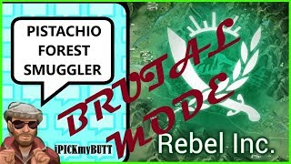 Rebel Inc ios [Pistachio Forest] Brutal mode - Smuggler